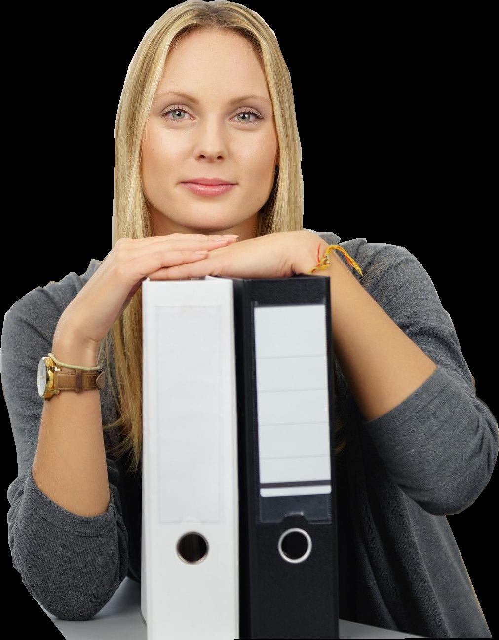 Datenschutz Frau